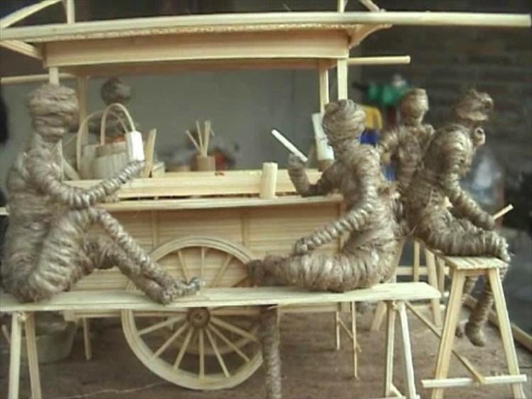 2. Craft Materials Hard of Bamboo