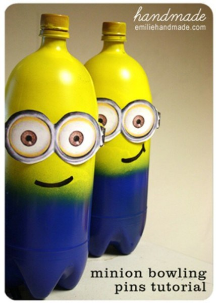Bowling ball Minion of Bottles