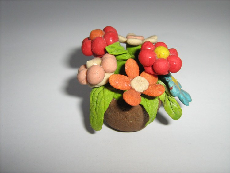 Craft materials natural soft clay