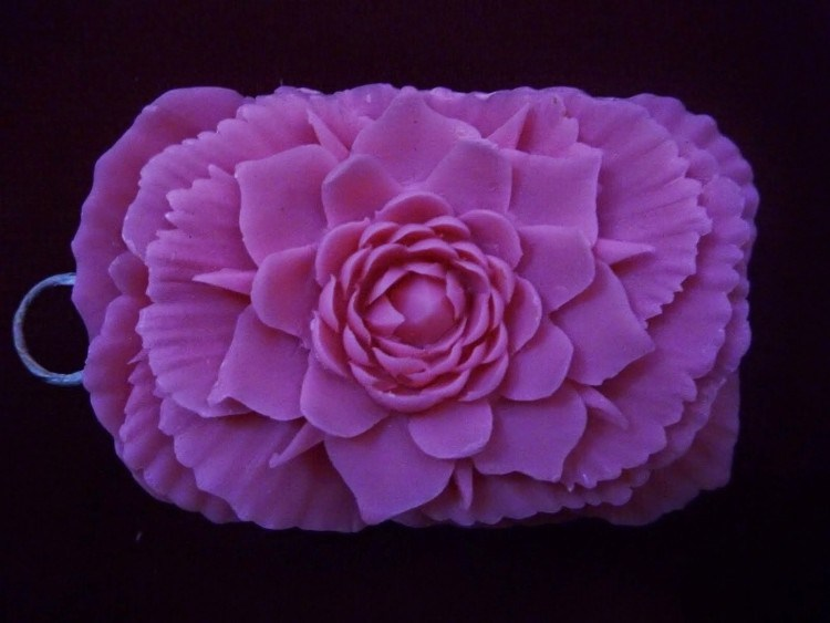 Craft materials of soft soap