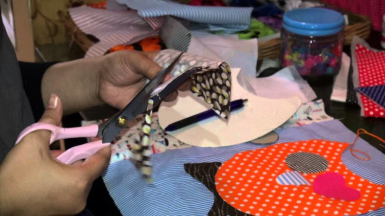 HOW TO MAKE A CRAFT patchwork