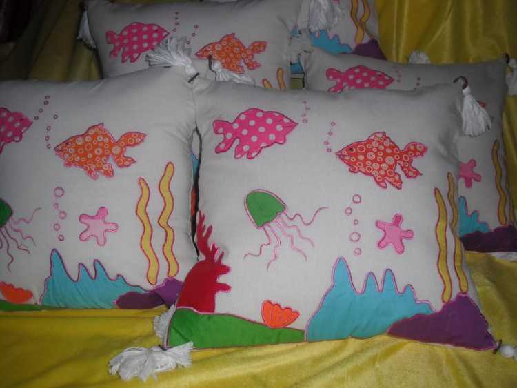 PILLOW CREATION OF VARIOUS patchwork2