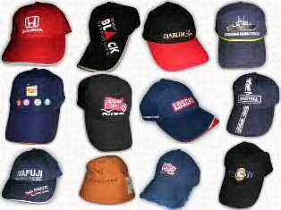 macam-macam model topi