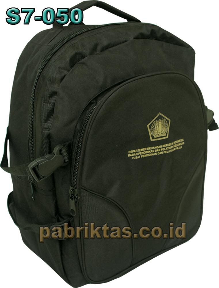 S Tas Back Pack Tas Seminar Diklat Pelatihan Praktek Kerja Industri