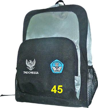 S Tas Sekolah Backpack Custome