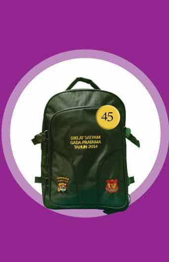 S Tas Backpack Diklat Satpam