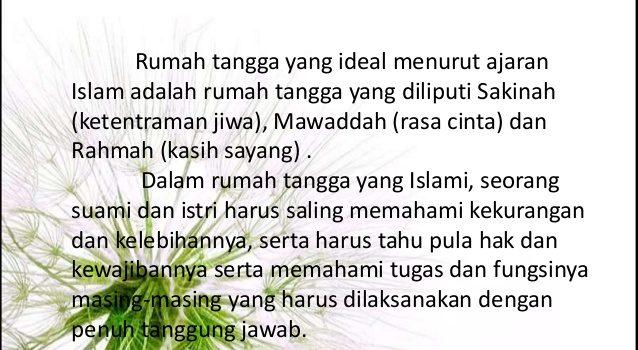 Rumah Tangga Menurut Islam