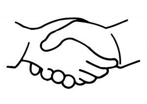 shake hands clipart