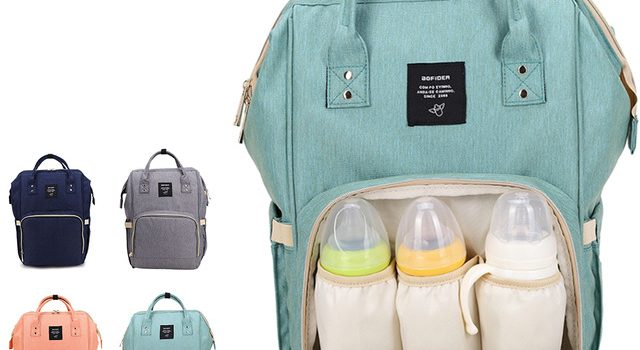 Tips Memilih Diaper Bag yang Cocok untuk si Baby