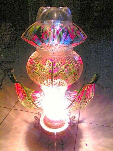 Ornamental lights of Used Bottles