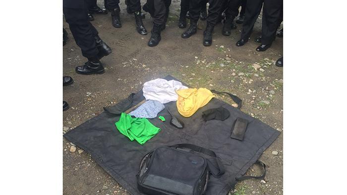 Bags at Home Dormitory Sabhara North Sumatra Police Contains Underwear and Spion Motor
